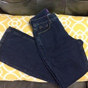 NYMJ Marilyn Straight Leg Jeans **EUC**